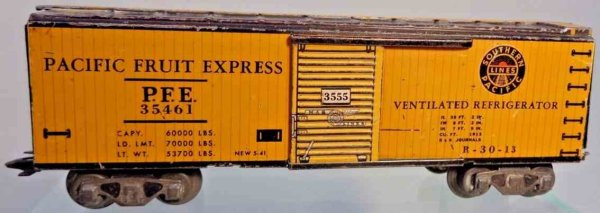 Marx Freight Wagons 3555