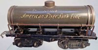 American Flyer Railway-Freight Wagons Tank car #1118 with...