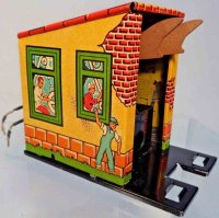 Marx Tin-Toys Coal dumping station #1614, made of...