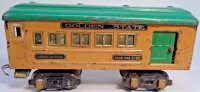American Flyer Railway-Passenger Cars Club car #3180 with...