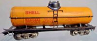 Marx Railway-Freight Wagons Shell tank car #3553 with...