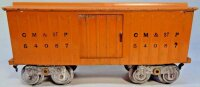 Lionel Railway-Freight Wagons Boxcar  #114.5, made of...