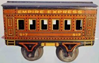 American Flyer Railway-Passenger Cars Pullman car #517...