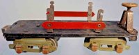 American Flyer Railway-Freight Wagons Flat car #3046 with...