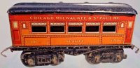 American Flyer Railway-Passenger Cars Seattle pullman car...
