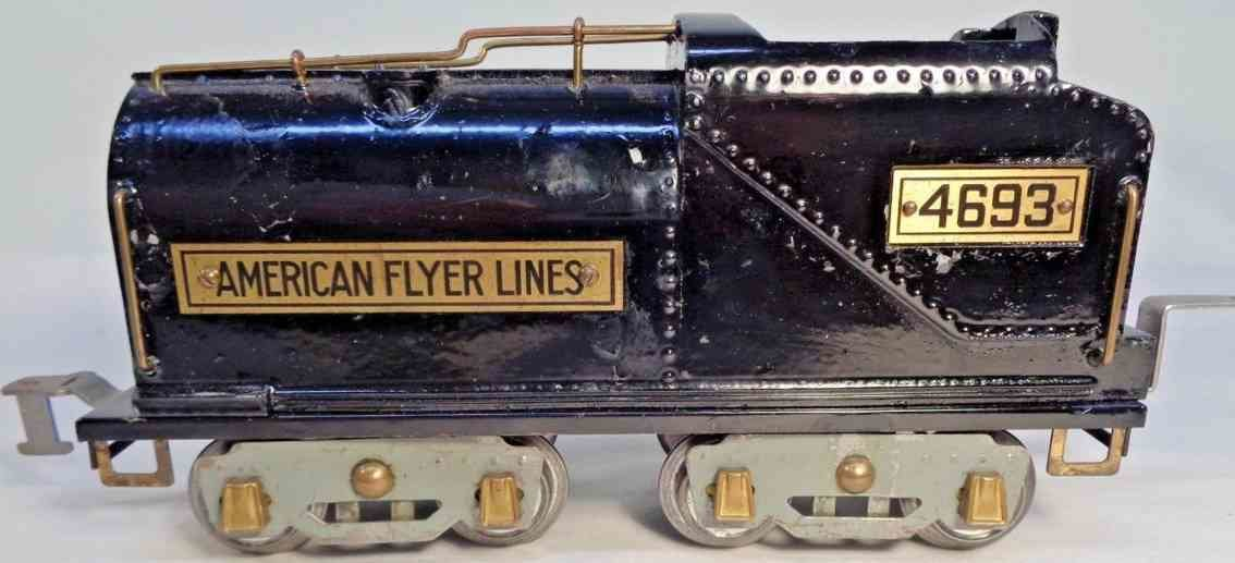 toys american flyer toy company 4693 railway toy tender