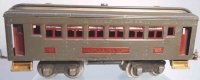 Lionel Railway-Passenger Cars Pullman car #605.6 with...