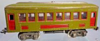 Lionel Railway-Passenger Cars Pullman car #610.11 with...