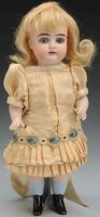 Kestner J. D. Dolls All-bisque doll #4, head incised 4...