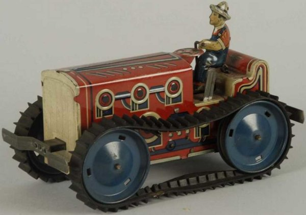 Marx Vehicles-Tugs-Rollers tractor 9,75