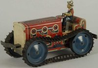 Marx Tin-Tugs/Rollers Tin lithographed self reversing...