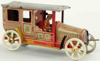 Fischer Georg Tin-Penny Toy Limousine with original...