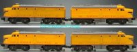 Lionel Railway-Locomotives Union Pacific FA twin diesel...