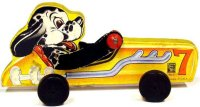 Fisher-Price Wood-Figures Doggy racer #7