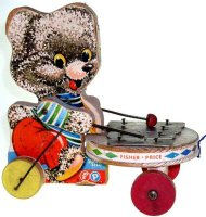 Fisher-Price Wood-Figures Shaggy Zilo #738, made of wood,...