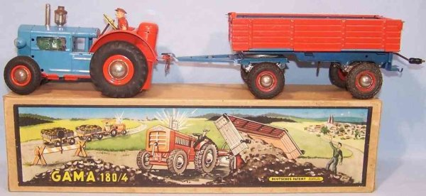 GAMA Vehicles-Tugs-Rollers 180/4