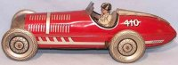 Mettoy Tin-Race-Cars Race car #410 made of tin,...