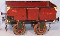 Rock & Graner Railway-Freight Wagons High-sided car with...