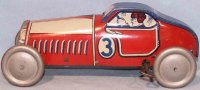 Mettoy Tin-Race-Cars Racing car #808 made of sheet metal,...