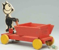 Fisher-Price Wood-Figures Felix the cat #500 delivery...