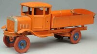 Kingsbury toys Tin-Trucks Dump truck, pressed steel,...