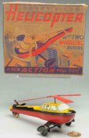Wyandotte Tine Ariplanes Streamlined helicopter made of...