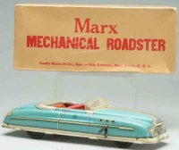 Marx Tin-Cars Mechanical roadster made of lithographed...