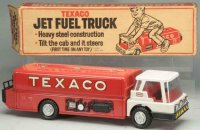 Buddy L Tin-Trucks Texaco jet fuel truck with original...