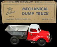 Courtland Tin-Trucks Mechanical dump truck #3100 in box,...