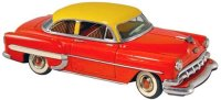 Marx Tin-Cars Chevy 2-door sedan with friction drive,...