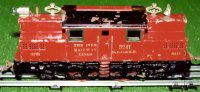 Ives Railway-Locomotives Electric locomotive in red, two...