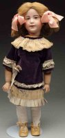 SFBJ Dolls French bisque socket head character doll #238,...
