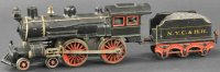 Maerklin Railway-Locomotives Cast iron locomotive with...