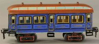 Maerklin Railway-Passenger Cars Parlor car with eight...