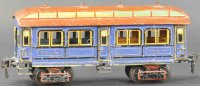 Maerklin Railway-Passenger Cars American dining car with...