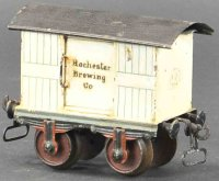 Maerklin Railway-Freight Wagons American beer car with...