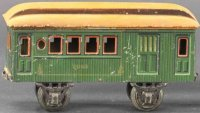 Maerklin Railway-Passenger Cars Baggage car #2943/1 with...