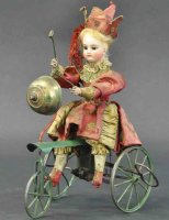 Unknown Tin-Automata French chime trike. Fascination...
