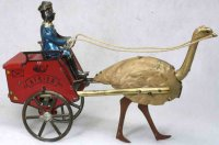 Lehmann Tin-Carriages AFRICA (red) #170 or KAMERUN...