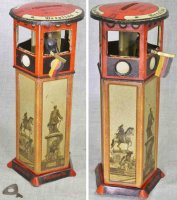 Lehmann Tin-Mechanical Banks BEROLINA #761, traffic tower...