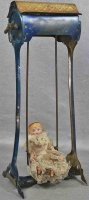 Lehmann Tin-Toys Swing doll #295 wind-up toy. This is one...