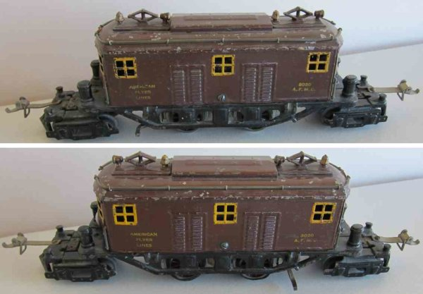 American Flyer Locomotives 3020 brown