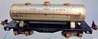 Ives Railway-Freight Wagons Tank car #1680, with eight...