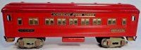 American Flyer Railway-Passenger Cars Pullman car #3381...