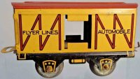 American Flyer Railway-Freight Wagons Box car #534 with...
