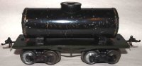 Ives Railway-Freight Wagons Tank car #66 1912 with four...