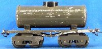 Ives Railway-Freight Wagons Tank car #66 1917 with four...