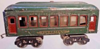 Lionel Railway-Passenger Cars Observation car #601.4 with...