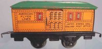 American Flyer Railway-Passenger Cars Baggage and mail...