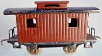 Lionel Railway-Freight Wagons Caboose #801.2 with four...